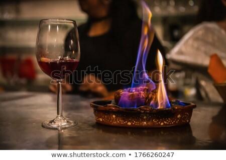 spanish earthenware glass Stock photo © nito