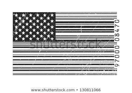 Barkod bayrak Kentucky boyalı yüzey dizayn Stok fotoğraf © michaklootwijk