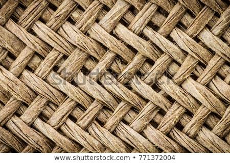 background structure basket weave Stock photo © armin_burkhardt