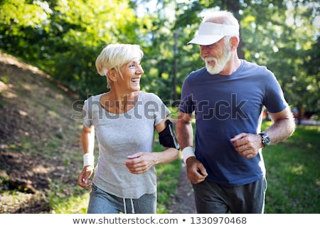 I love jogging ! Stock photo © stockyimages