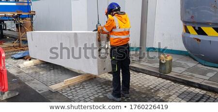Grue travaux production équipement technologie réseau Photo stock © papa1266