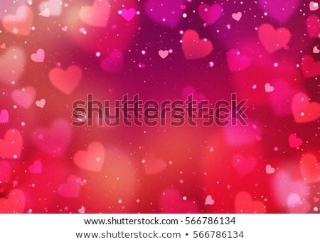 Liefde paars gelukkig valentijnsdag hart achtergrond Stockfoto © maxmitzu
