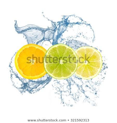refreshing orange and lemon juice stock photo © mpessaris