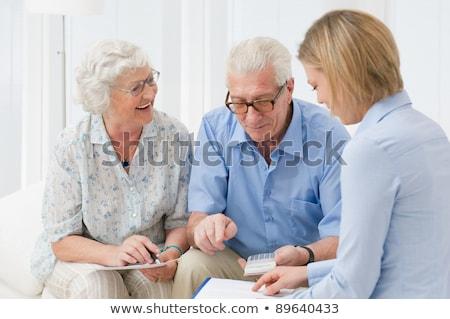 планирования инвестиции финансовый советник гостиной человека Сток-фото © wavebreak_media