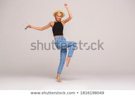 Portrait of woman wearing sunglasses Stock photo © IS2