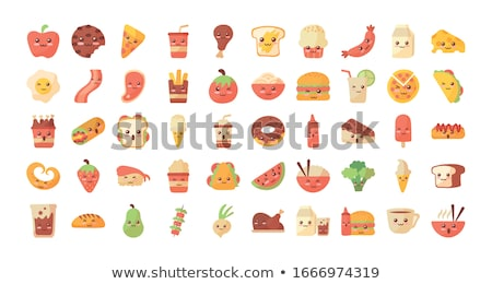 barbecue tasty party icons set vector illustration stock photo © robuart