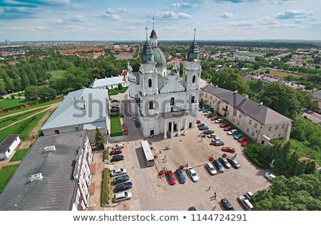 Basilica of the Birth of the Virgin Mary in Chelm, Poland Stock photo © benkrut