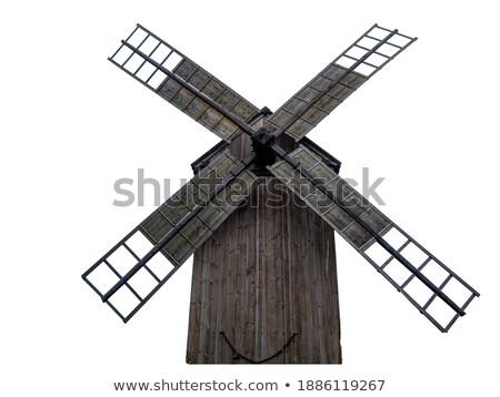 white wind turbines ll Stock photo © ssuaphoto