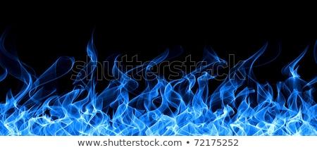 Background Flames Blue Seamless Stock photo © hlehnerer