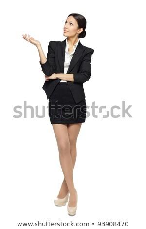 wygląd · profil · kobiet · patrząc · oka · młodych - zdjęcia stock © photography33