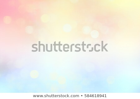 Stock photo: spring in light colours