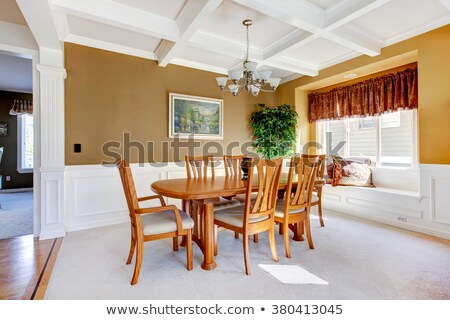 simple dinning room Stock photo © Sarkao