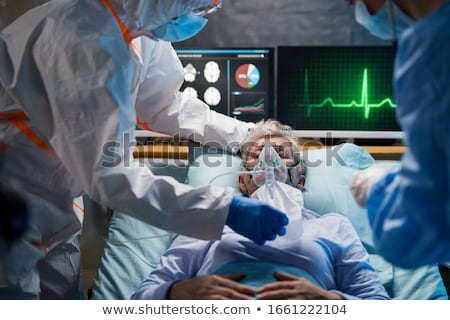 cirujano · quirúrgico · habitación · máscara · femenino - foto stock © andreasberheide