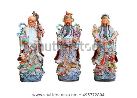 három · kínai · boldog · élet · siker · ázsiai - stock fotó © AEyZRiO