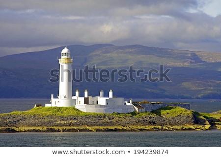 Lighthouse near Oban, Scotland Stock photo © Julietphotography