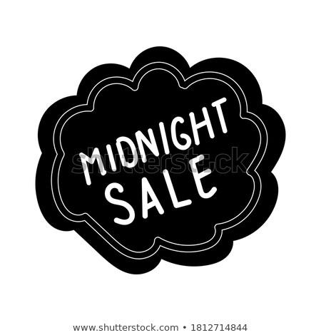 Midnight Offer Red Vector Icon Design Stock photo © rizwanali3d