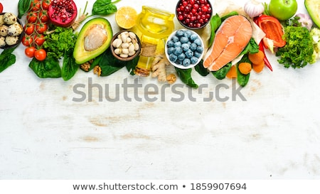 assortment of fresh fruit stock photo © m-studio