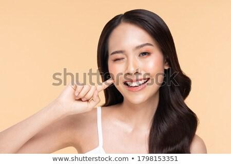 Bellezza ritratto naturale asian ragazza giovani Foto d'archivio © NeonShot