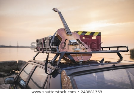 Surfing with music. Stock photo © Fisher