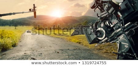 Set of outdoor park scenes Stock photo © bluering