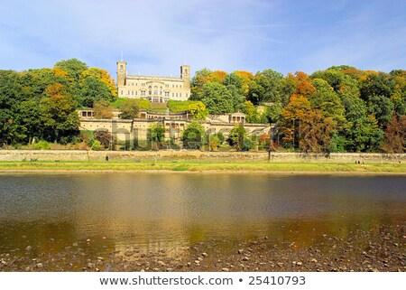 ストックフォト: 宮殿 · ドレスデン · ドイツ · ホーム · 川