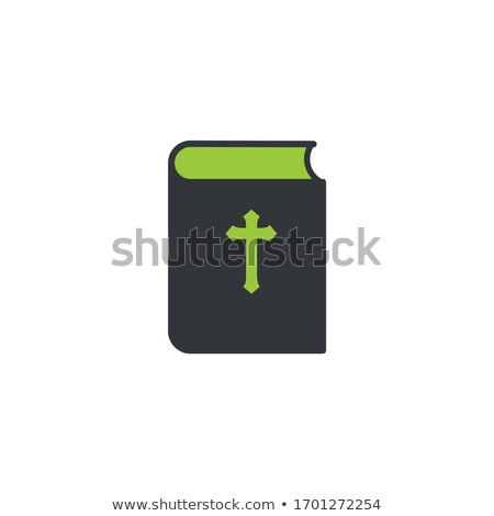 Bible book icon. mission, Bible Society. Stock Vector illustration isolated on white background. Stock photo © kyryloff