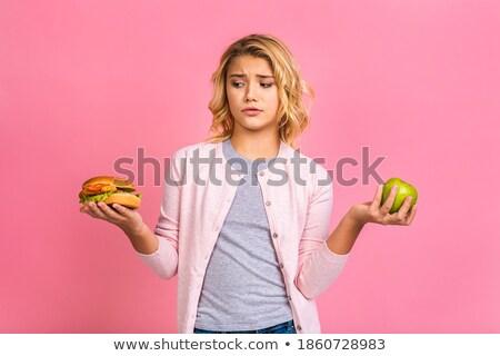 fastfood apple Stock photo © prill