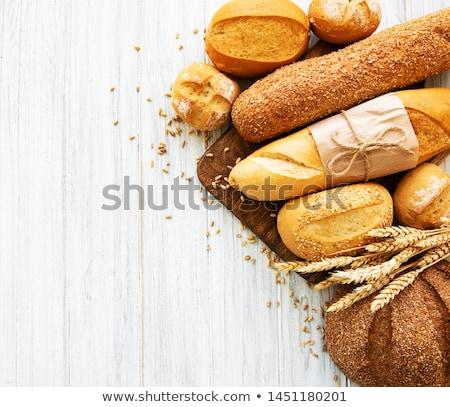 Assortment Of Baked Bread Stock fotó © almaje