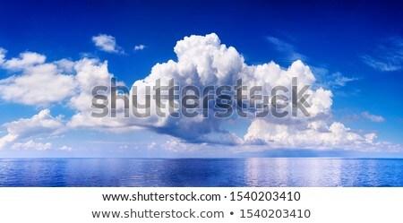 異なる 雲 深い 青空 ストックフォト © brianguest