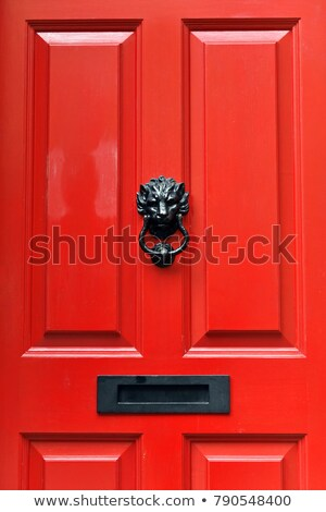armário · porta · azul · portas · escola · secundária · trancado - foto stock © pinkblue