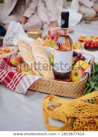 colorido · buquê · rosas · cesta · isolado · branco - foto stock © witthaya