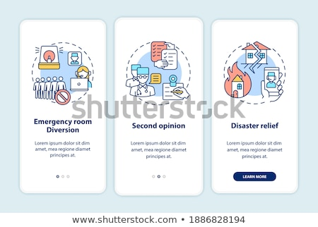 Tele Phone on medical kit	 Stock photo © designers