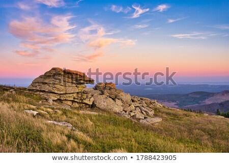 Sunset in Saxony Stock photo © manfredxy