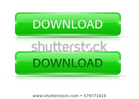 Indirmek yeşil vektör düğme web dijital Stok fotoğraf © rizwanali3d