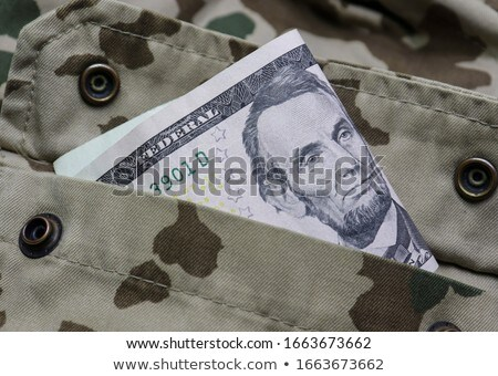 deserto · arma · exército · militar · pistola - foto stock © geniuskp