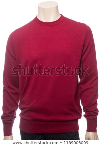 man in red jumper Stock photo © Paha_L