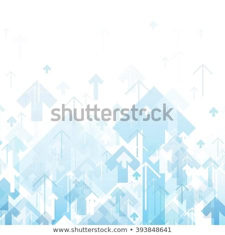 グリッド · 方向 · 抽象的な · 青 · 図示した · 飛行 - ストックフォト © sdmix