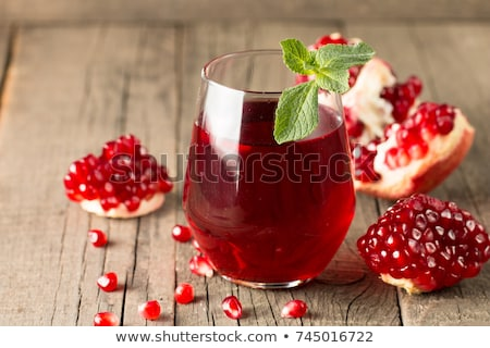 juice from a pomegranate stock photo © imaster