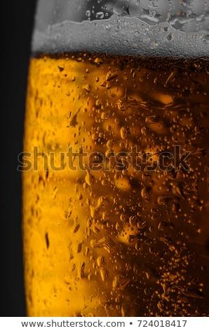 Cerveja vidro contrariar bar restaurante Foto stock © wavebreak_media