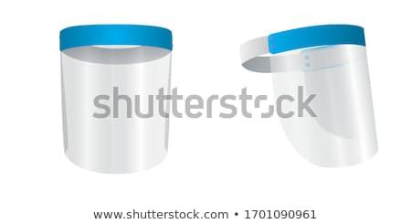 空っぽ · 鋼 · シールド · 金属 · バッジ · 孤立した - ストックフォト © get4net