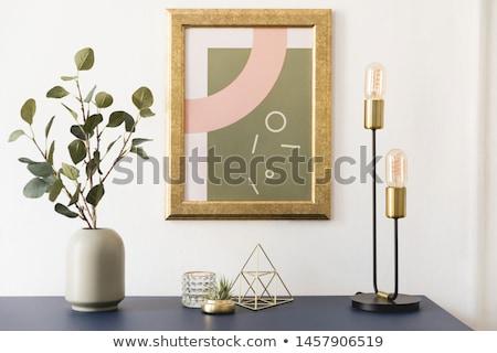 Lakberendezés kellékek szalag felszerlés belső ház Stock fotó © biv
