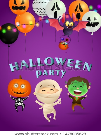 Announce Halloween Party Stock photo © studiostoks
