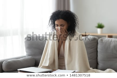 Allergy Symptoms of Person Suffering from Pain Stock photo © robuart