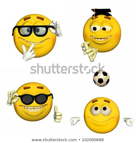 Balón de fútbol aislado fútbol Foto stock © Wetzkaz