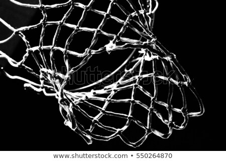 close up shot of a basketball hoop stock photo © kawing921