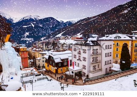 Winter in Bad Gastein Stock photo © tepic