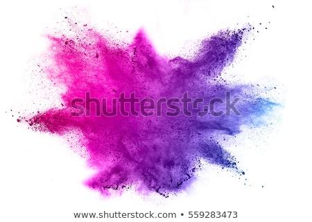 Purple краской искусства волна цвета Сток-фото © SSilver