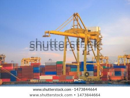 dock crane Stock photo © Antonio-S