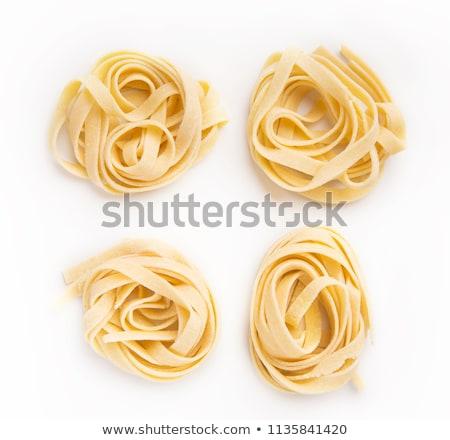 raw fresh pasta Stock photo © M-studio