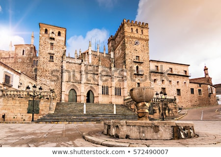 guadalupe caceres province extremadura spain stock photo © phbcz